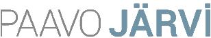PAAVO JÄRVI Logo