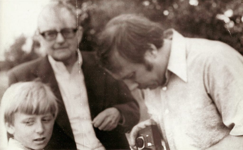 Dmitri Shostakovich with Paavo and Neeme Järvi