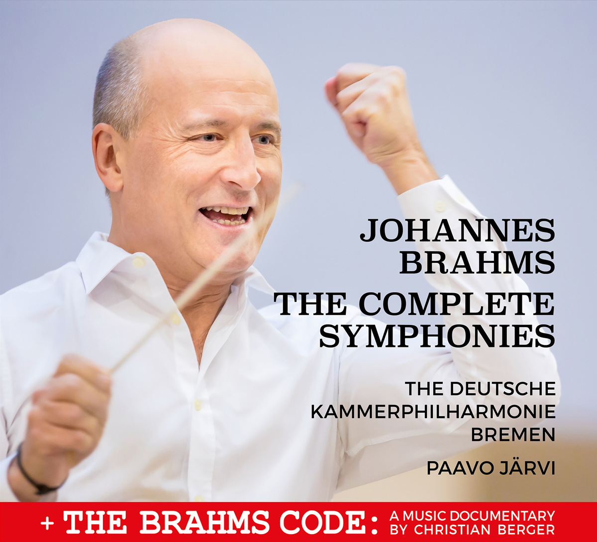 Brahms Symphonies DVD/BluRay cover
