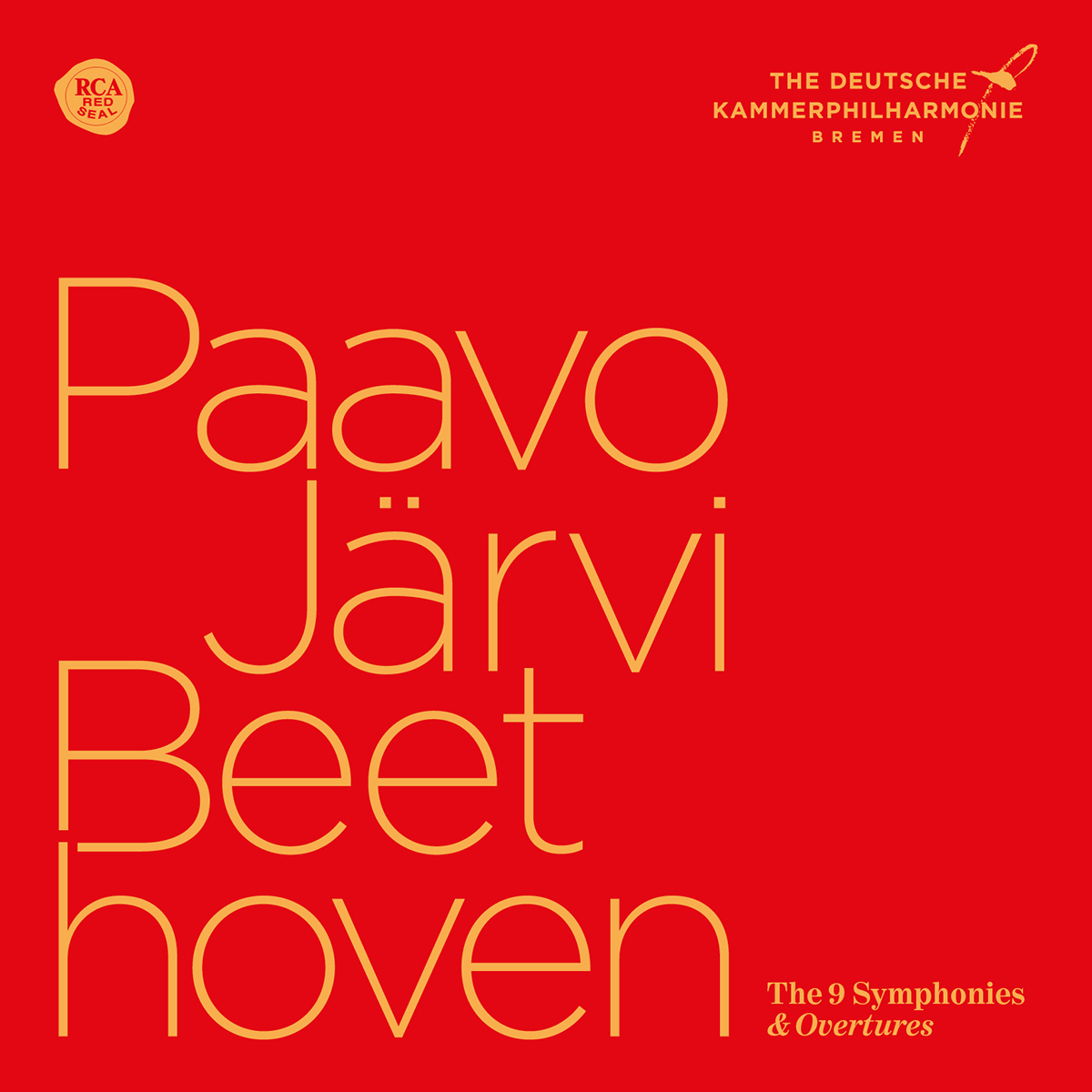 Beethoven Symphonies & Overtures cover