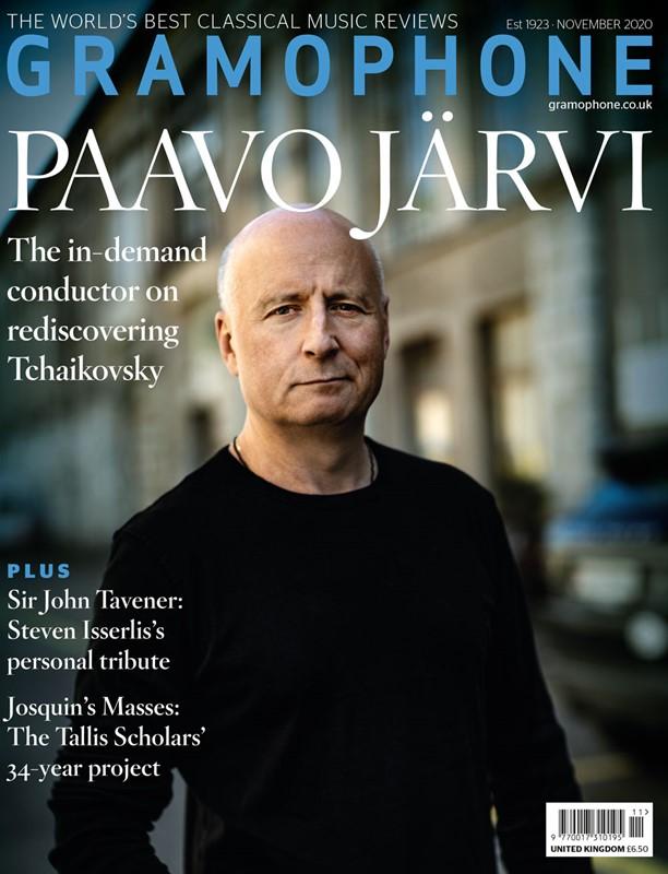 Gramophone Cover Nov. 2020