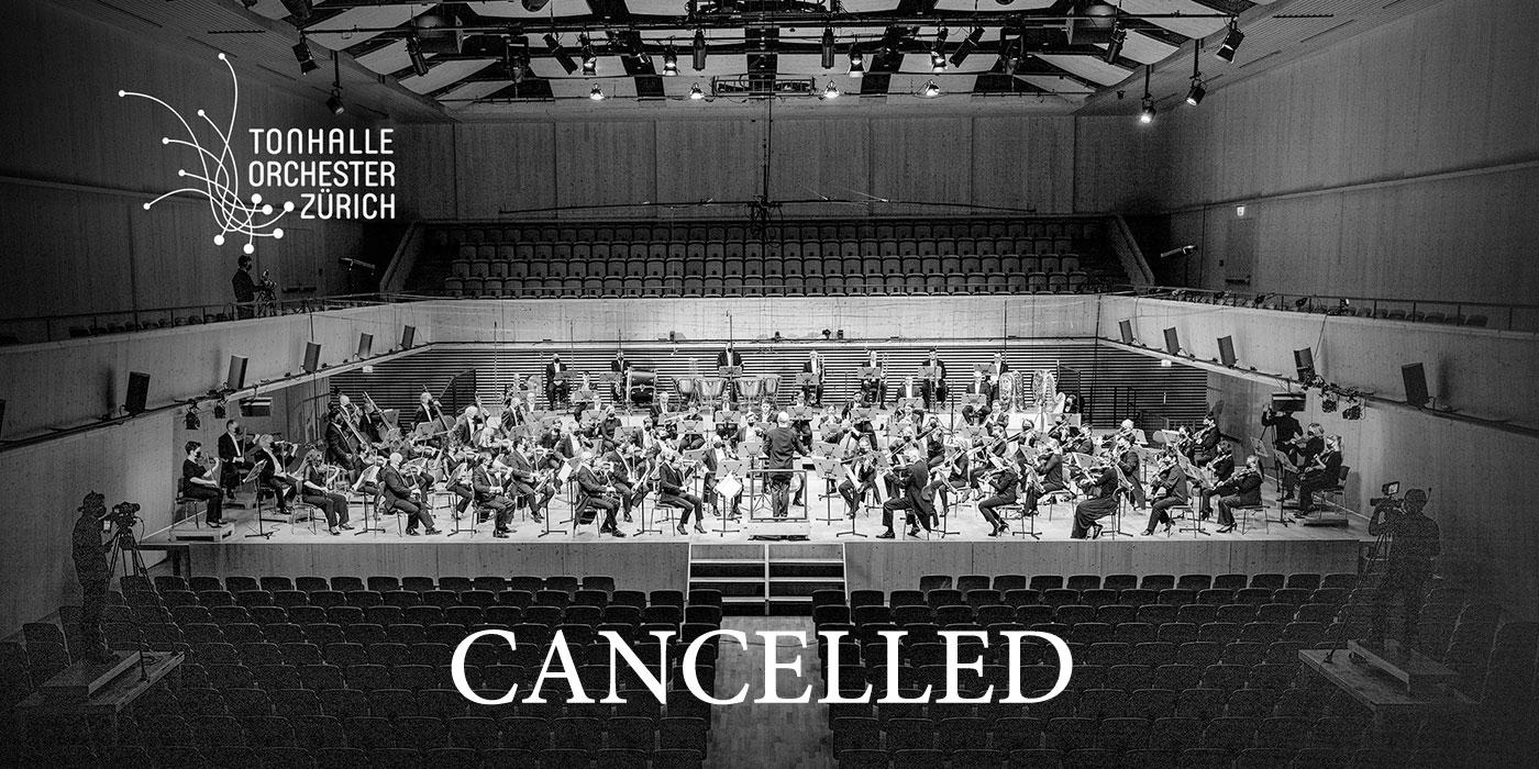 Tonhalle Zürich Live Stream Cancelled