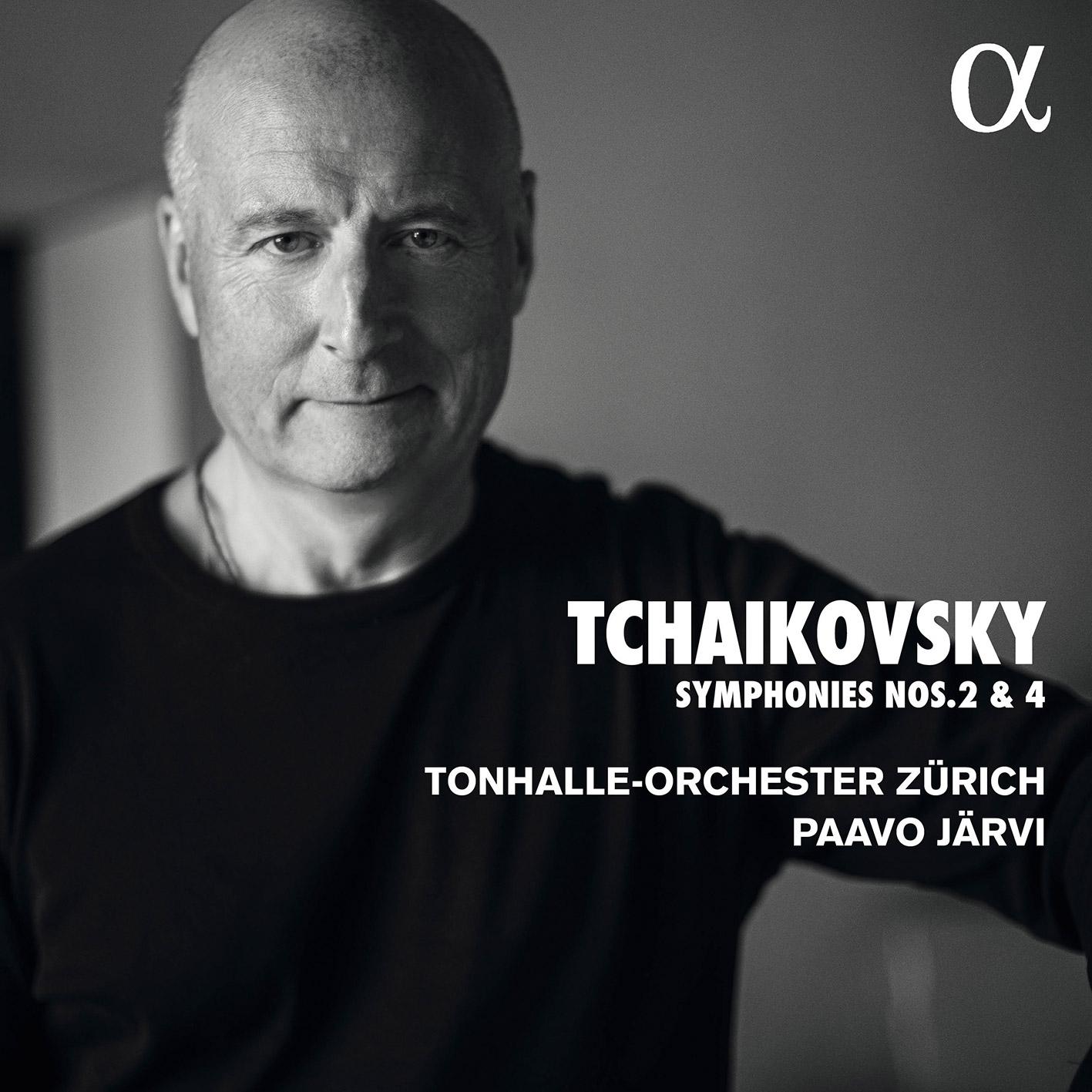 Tchaikovsky 2&4 Zürich - Alpha Classics cover