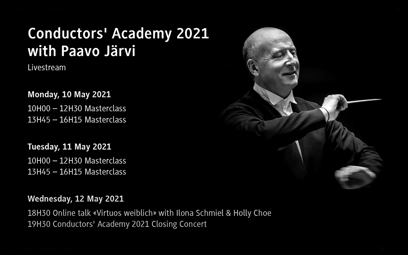 Zurich Young Conductor's Academy 2021