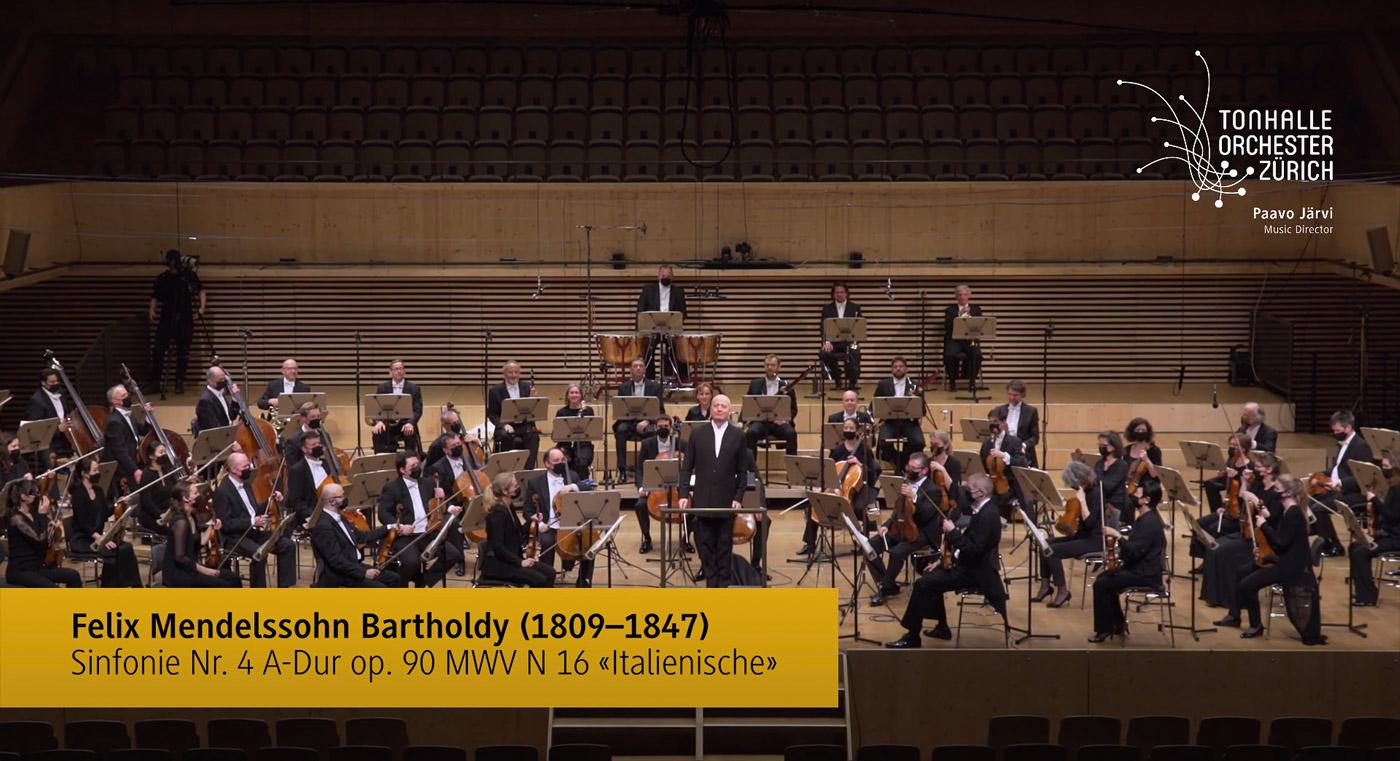 Mendelssohn 4 Zurich Youtube