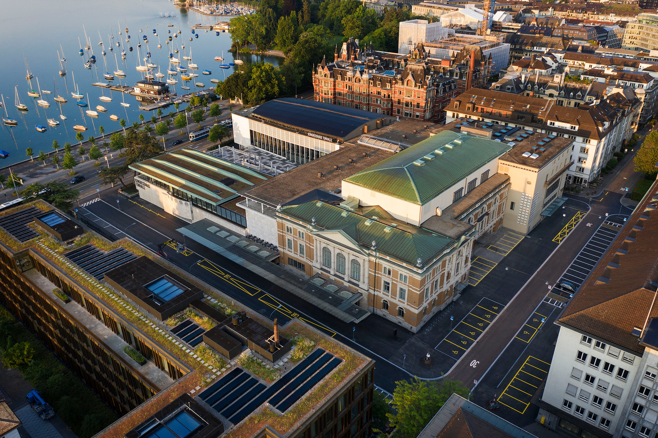 Tonhalle from the Sky
